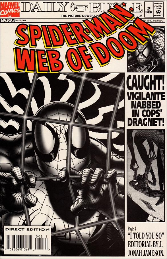 Spider-Man: Web of Doom 2-A by Marvel