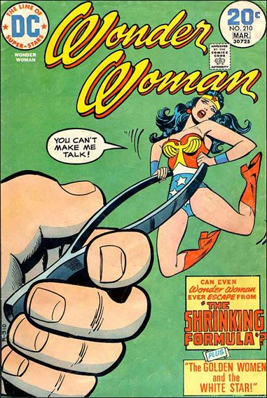 Wonder Woman (1942) 210-A by DC