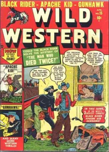 Wild Western 15-A by Marvel