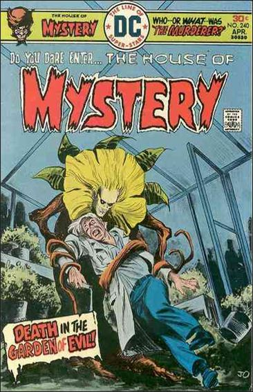 House of Mystery (1951) 240-A by DC