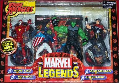 Marvel Legends (Box Sets) Young Avengers by Toy Biz