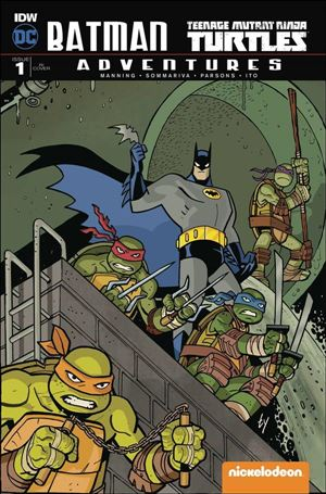 Batman/Teenage Mutant Ninja Turtles Adventures 1-F