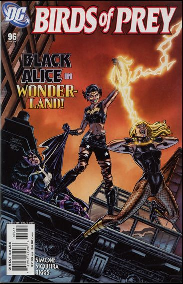 Birds of Prey (1999) 96-A by DC