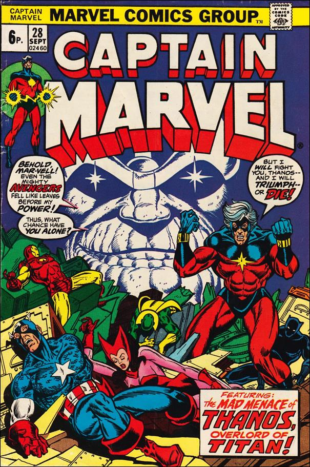 Captain Marvel (1968) 28-B by Marvel