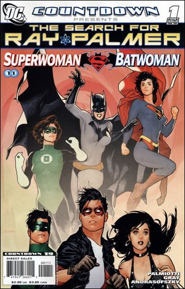 Countdown Presents: The Search for Ray Palmer: Superwoman/Batwoman 1-A by DC
