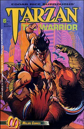 Tarzan the Warrior 2-A by Malibu