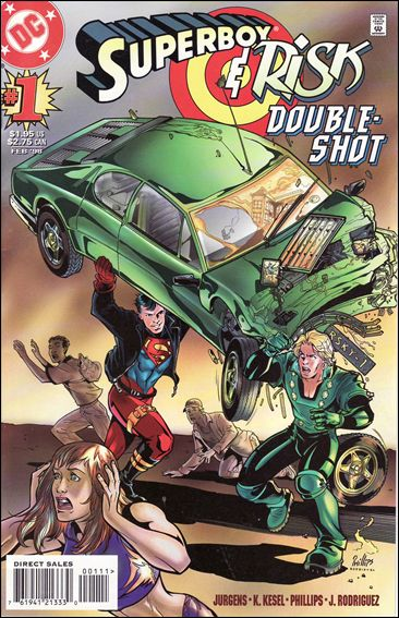 Superboy/Risk Double-Shot 1-A by DC