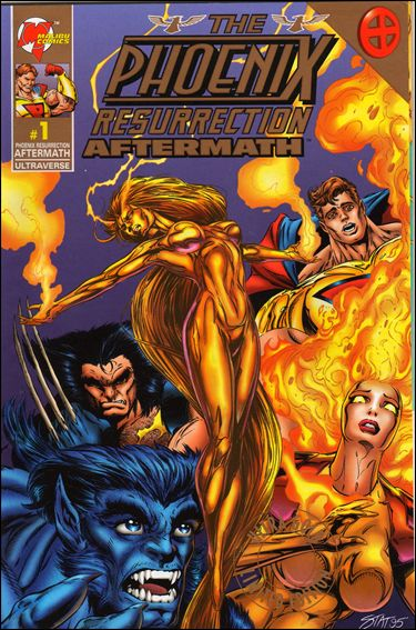 Phoenix Resurrection: Aftermath 1-B by Malibu