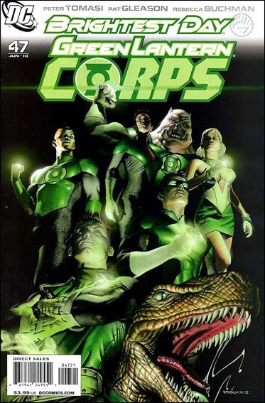 Green Lantern Corps (2006) 47-B by DC