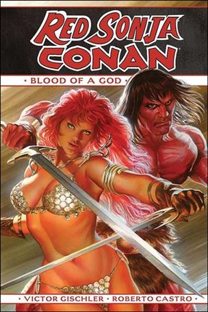 Red Sonja / Conan: Blood of a God nn-A
