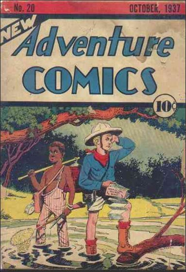 New Adventure Comics 20-A by DC