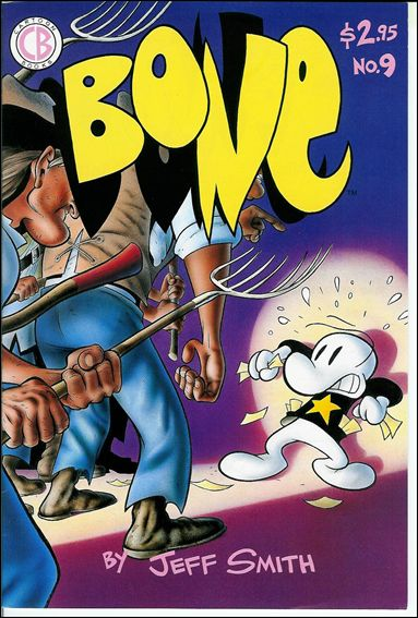 Bone (1991) 9-A by Cartoon Books