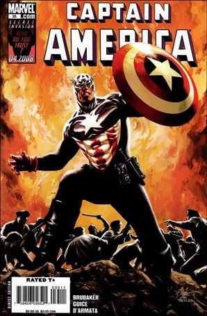 Captain America (2005) 35-A