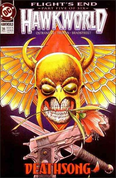 Hawkworld (1990) 31-A by DC