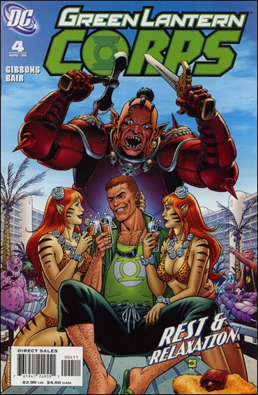 Green Lantern Corps (2006) 4-A by DC