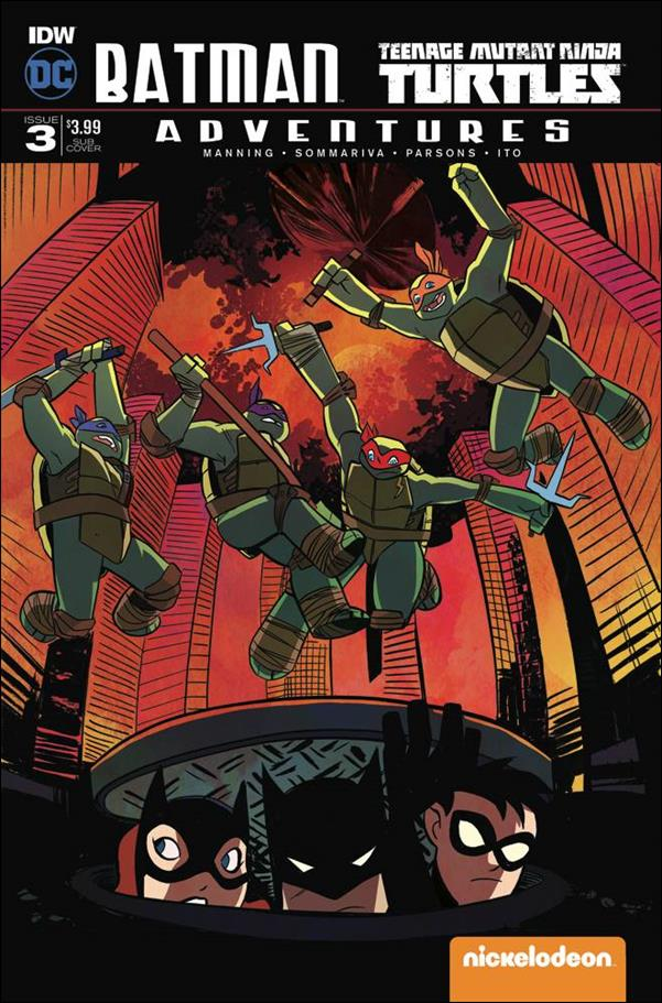 Batman/Teenage Mutant Ninja Turtles Adventures 3-B by IDW
