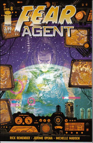 Fear Agent (2005) 8-A by Image