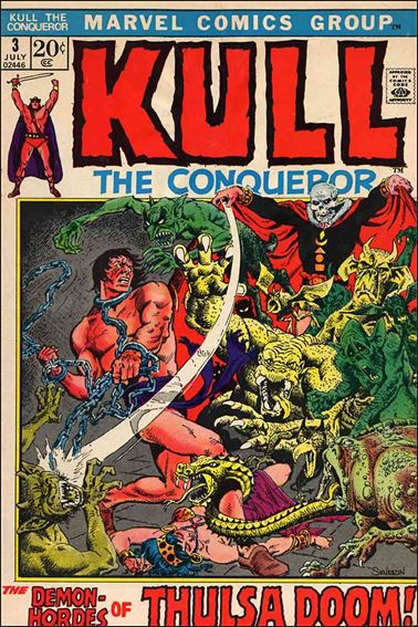 Kull the Conqueror (1971) 3-A by Marvel