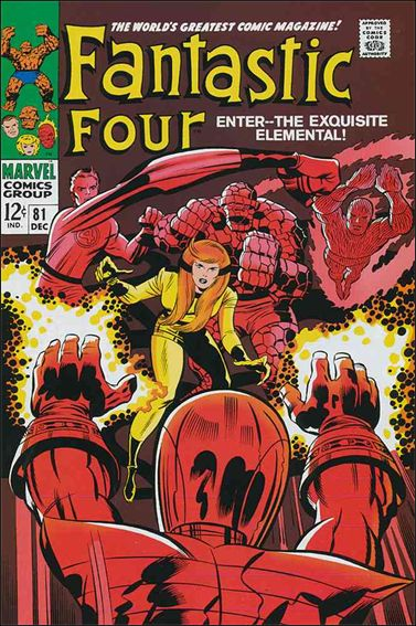Fantastic Four (1961) 81-A by Marvel