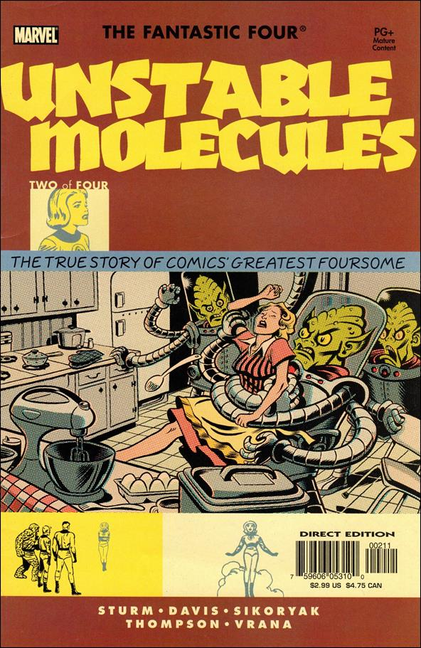 Startling Stories: Fantastic Four - Unstable Molecules 2-A by Marvel