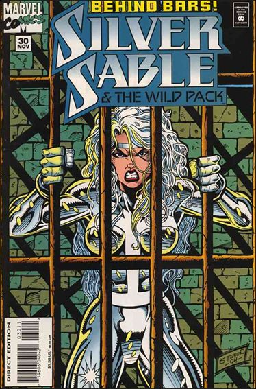 Silver Sable & The Wild Pack 30-A by Marvel