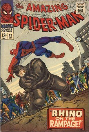 Amazing Spider-Man (1963) 43-A