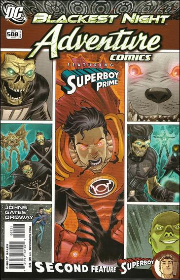 Adventure Comics (2009) '508'-B by DC