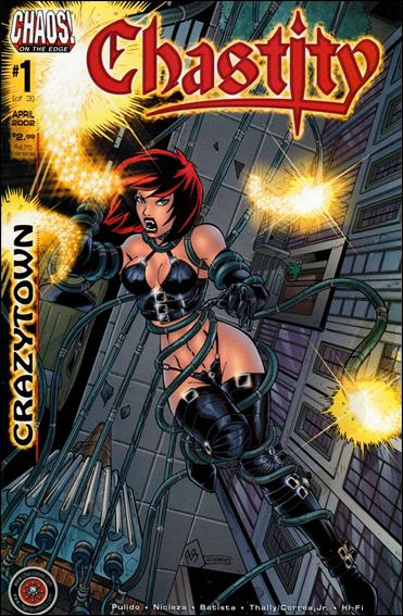 Chastity: Crazytown 1-A by Chaos! Comics