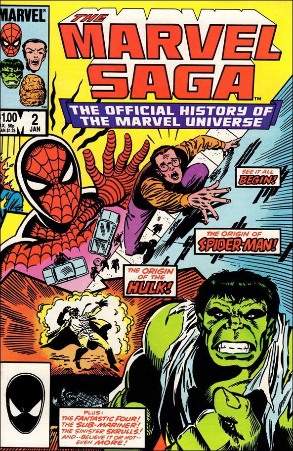 Marvel Saga 2-A by Marvel