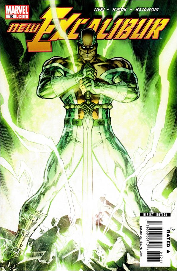 New Excalibur 10-A by Marvel