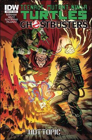 Teenage Mutant Ninja Turtles / Ghostbusters 4-D