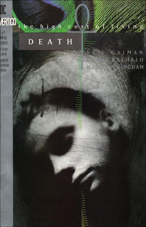 Death: The High Cost of Living 1-A by Vertigo