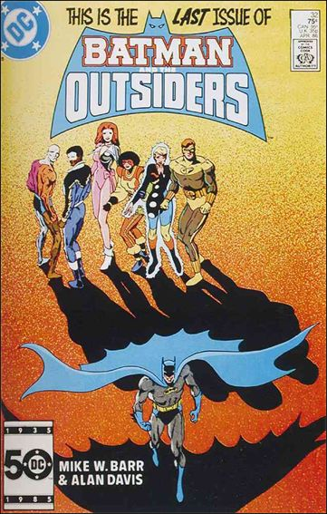 Batman and the Outsiders (1983) 32-A by DC