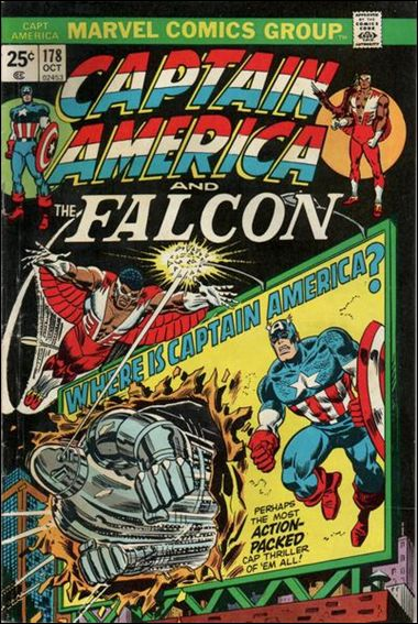 Captain America (1968) 178-A by Marvel