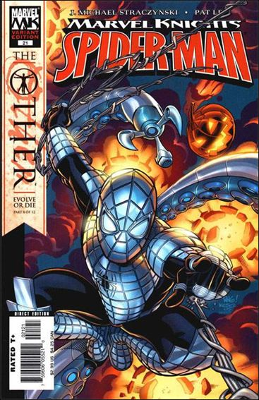 Marvel Knights Spider-Man (2004)  21-B by Marvel