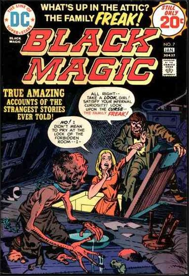 Black Magic (1973) 7-A by DC