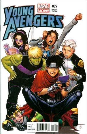 Young Avengers (2013) 5-B by Marvel