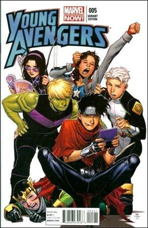 Young Avengers (2013) 5-B