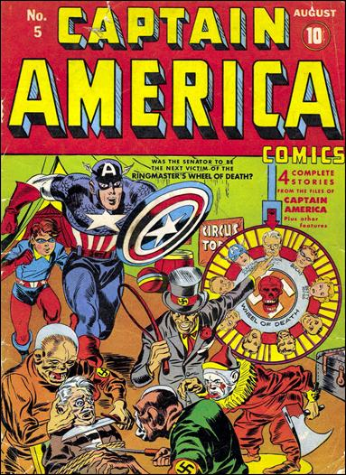 Captain America Comics (1941) 5-A by Timely