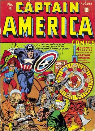 Captain America Comics (1941) 5-A
