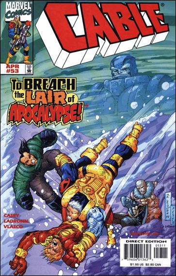 Cable (1993) 53-A by Marvel