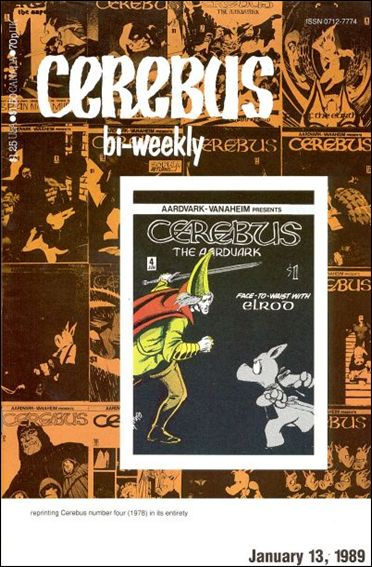 Cerebus Bi-Weekly 4-A by Aardvark-Vanaheim