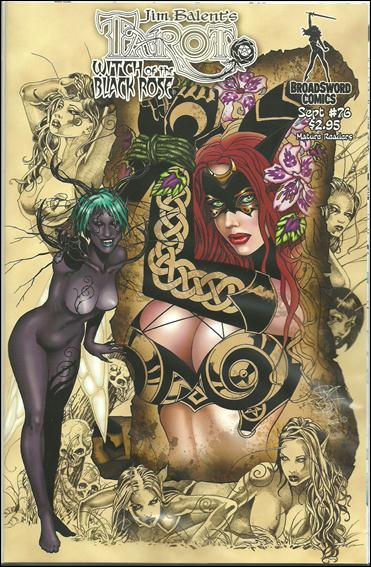 Tarot: Witch of the Black Rose 76-A by BroadSword Comics