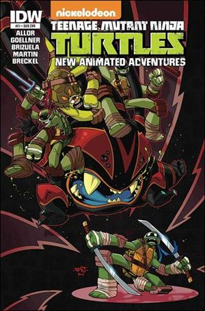 Teenage Mutant Ninja Turtles New Animated Adventures 21-B