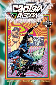 Captain Action Comics 3-C by Moonstone