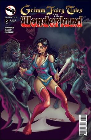 Grimm Fairy Tales Vs. Wonderland 2-A