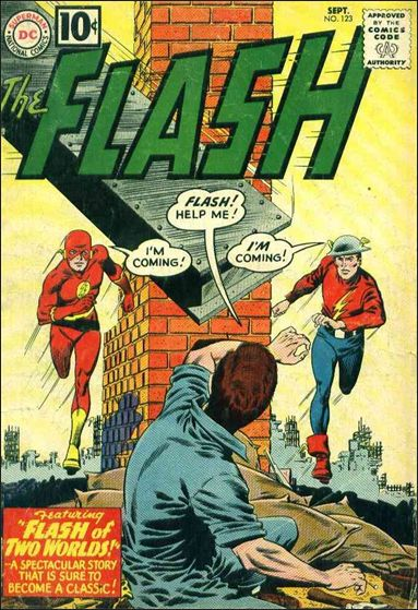 Flash (1959) 123-A by DC