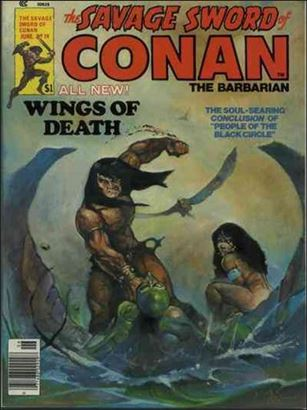 Savage Sword of Conan (1974) 19-A