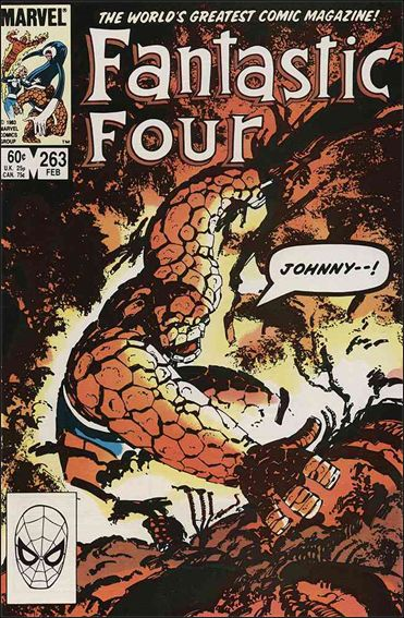 Fantastic Four (1961) 263-A by Marvel
