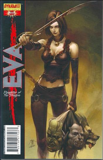 Eva: Daughter of the Dragon One-Shot 1-D by Dynamite Entertainment